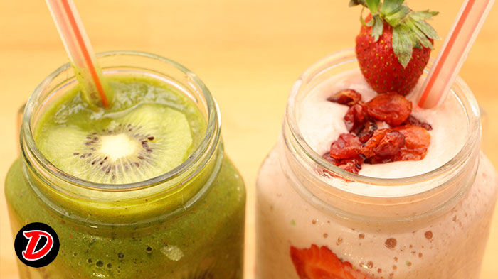 Resep Green & Smoothies Strawberry